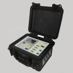 DUS-TT-V portable ultrasonic flow meter battery 50 hours