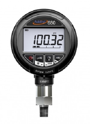 ADT-680W Precision digital pressure gauge 0.25% + Recorder